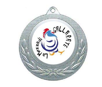 medaglia mezza maratona di gallarate